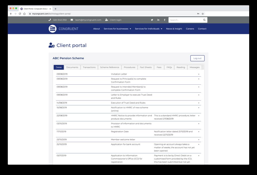 congruent-ssas-client-portal-screen-1